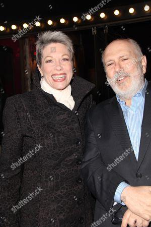 Marin Mazzie and Lee Wilkof
