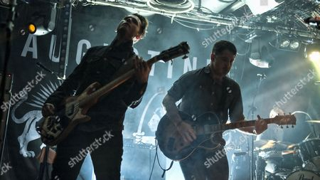 Editorial image of Augustines in concert at the Arches, Glasgow, Scotland, Britain - 11 Apr 2014