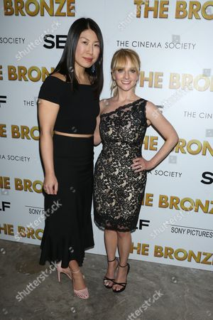 Stock Image of Joyce Chang, Self Magazine's Editor-in-Chief and Melissa Rauch