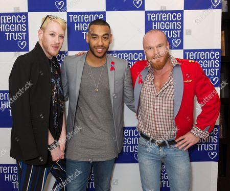 Lewis-Duncan Weedon, Josh Daniels and Philip Christopher Baldwin
