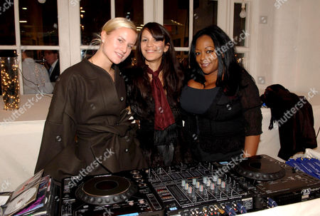 Stock Picture of Olivia Inge, Lisa Moorish and Kym Mazelle