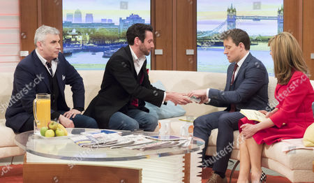 Marvin Berglas and Jamie Raven with Ben Shephard and Kate Garraway