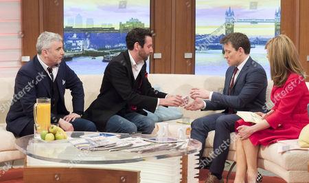 Editorial image of 'Good Morning Britain' TV show, London, Britain - 18 Mar 2016
