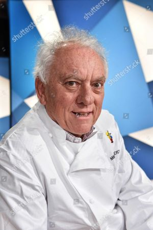 Editorial picture of Michel Rostang, chef, Paris, France  - 18 Mar 2016