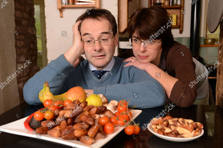 Quentin Letts And Wife Lois Letts Following The 'deliciously Ella' Cook Book A Vegan Diet Cookery Book With A Lot Of Emphasis On Ingredients Such As Dates Avocados Nuts Lentils.