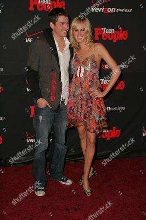 Talan Torriero and Kimberly Stewart