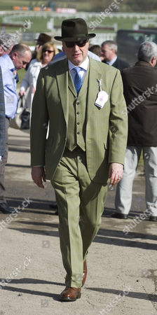 Richie Rich Arrives At The Cheltenham Festival For The First Day Of Racing Cheltenham Gloucs.