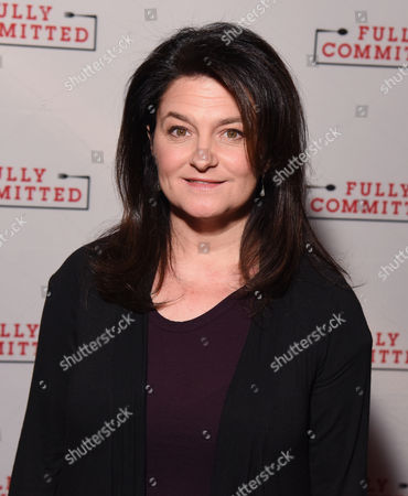 Editorial image of 'Fully Committed' Broadway play photocall, New York, America - 18 Mar 2016