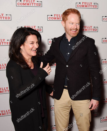 Stock Picture of Becky Mode and Jesse Tyler Ferguson