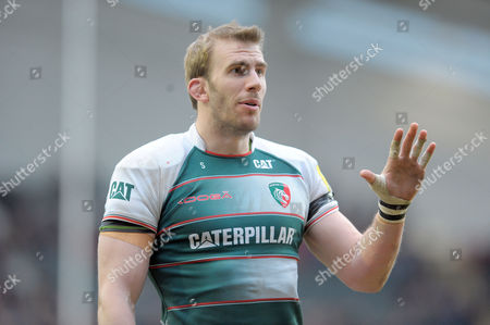 Leicester's Tom Croft - Rugby Union - Aviva Premiership - 20/03/16 - Leicester Tigers v Saracens - at Welford Road Leicester UK. Photo Credit - Tom Dwyer/Seconds Left Images