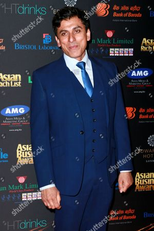 Editorial picture of The Asian Business Awards, London, Britain - 18 Mar 2016