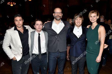 Logan Huffman, Dylan Blue, Joseph Castelo, Keenan Jolliff, Lucy Fry