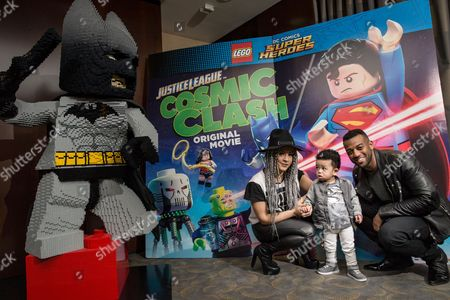 Editorial picture of 'Lego DC Justice League: Cosmic Clash' film premiere screening, London, Britain - 19 Mar 2016