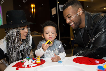 Stock Photo of Aimee Jade Azari, Omre Williams and Oritse Williams