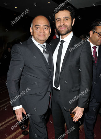 Stock Picture of Bhasker Patel and Rez Kempton