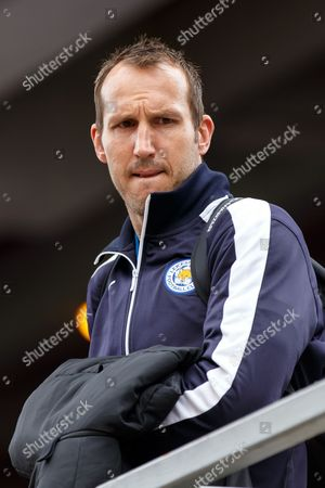 Goalkeeper Mark Schwarzer of Leicester City arrives before the Barclays Premier League match between Crystal Palace and Leicester City played at Selhurst Park Stadium, London on March 19th 2016