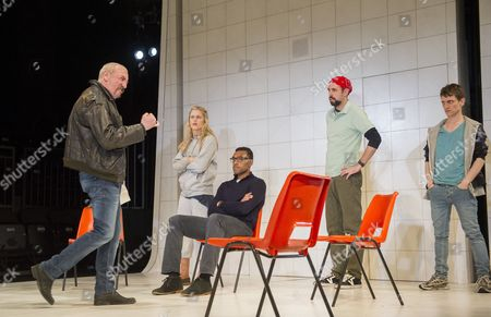Kevin McMonagle as Paul, Denis Gough as Emma, Nari Blair-Mangat as Shaun, Alistair Cope as Foster, Jacob James Beswick as T