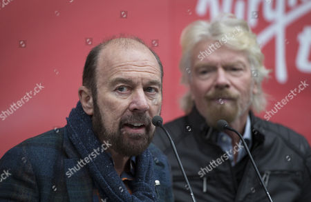 Stock Photo of Brian Souter with Sir Richard Branson