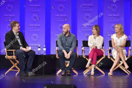 Rob Moynihan, Dave Erickson, Gale Anne Hurd and Kim Dickens