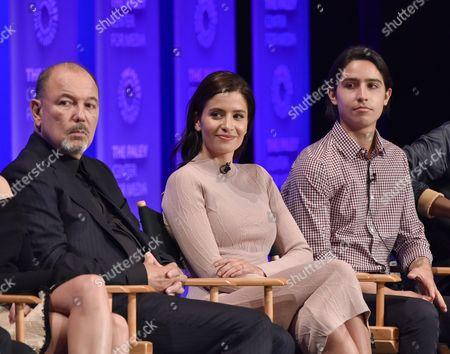 Ruben Blades, Mercedes Masohn and Lorenzo James Henrie