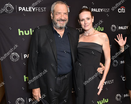 Stock Picture of Dick Wolf and Noelle Lippman