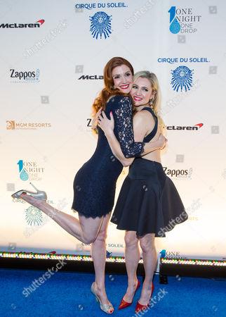 Julia Fowler and Katherine Bailess