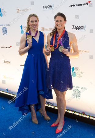 Stock Picture of Esther Lofgren and Susan Francia