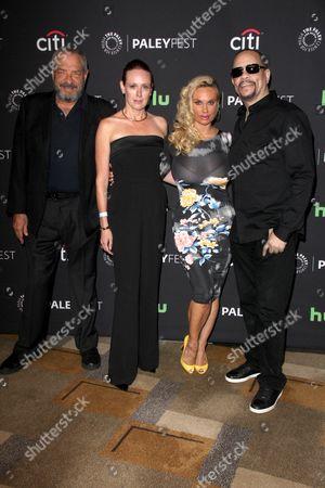 Dick Wolf, Noelle Lippman, Nicole Coco Austin, Ice T