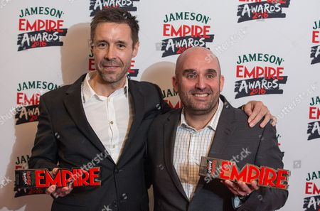 Paddy Considine and Shane Meadows