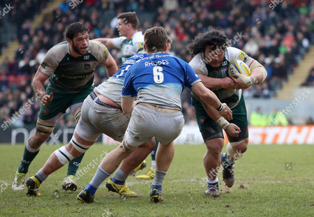 Editorial picture of Aviva Premiership Rugby 2015/16 Leicester Tigers v Saracens Welford Road Stadium, Aylestone Rd, Leicester, United Kingdom - 20 Mar 2016