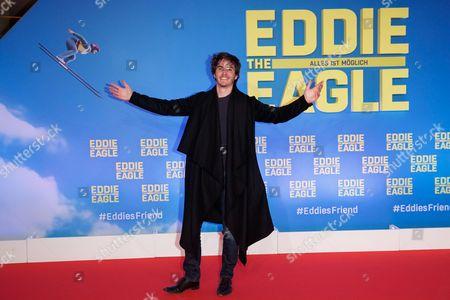 Editorial image of 'Eddie The Eagle' film premiere, Munich, Germany - 20 Mar 2016