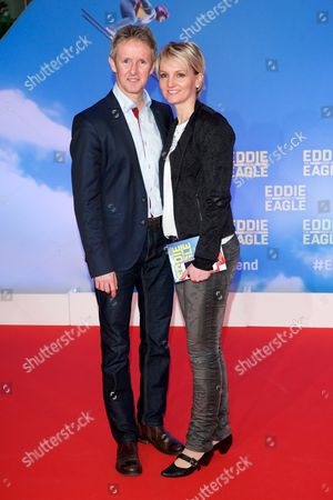 Editorial picture of 'Eddie The Eagle' film premiere, Munich, Germany - 20 Mar 2016