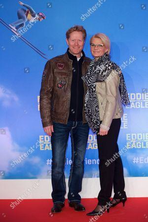 Dieter Thoma and wife Mandana Thoma