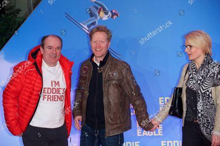 Wolfram Kons, Dieter Thoma and wife Mandana Thoma
