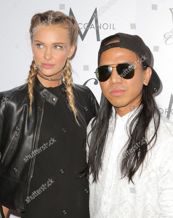 Stock Image of Isabella Lindblom and Michael Mente