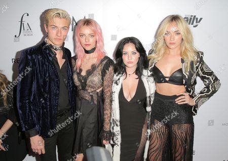 Lucky Blue Smith, Pyper America Smith, Starlie Smith and Daisy Clementine Smith