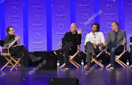 Tim Stack, Ryan Murphy, Brad Falchuk and Tim Minear