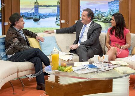 Editorial image of 'Good Morning Britain' TV show, London, Britain - 21 Mar 2016