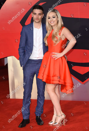 Tom Parker with Kelsey Hardwick