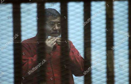 Editorial image of 'Qatar espionage' trial, Cairo, Egypt - 21 Mar 2016