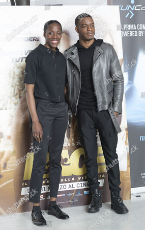 Fiona May with Stephan James