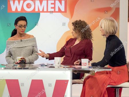 Josie Cunningham, Nadia Sawalha and Jane Moore