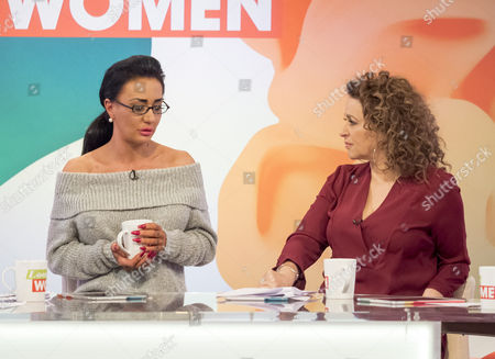 Stock Picture of Presenters are Andrea McLean, Coleen Nolan, Nadia Sawalha and Jane Moore.  Guest are Tamzin Outhwaite and Josie Cunningham.