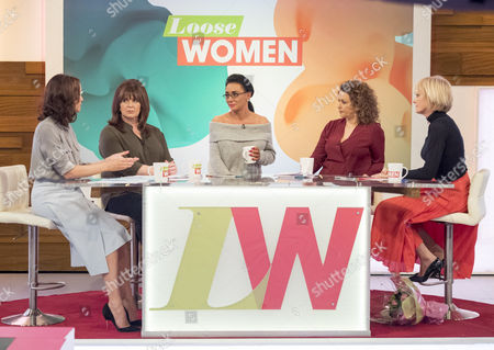 Andrea McLean, Coleen Nolan, Josie Cunningham, Nadia Sawalha and Jane Moore