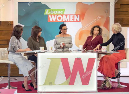 Editorial image of 'Loose Women' TV show, London, Britain - 21 Mar 2016