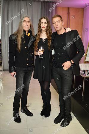 Barrington De La Roche, Inesa Vaiciute and Tomas Auksas