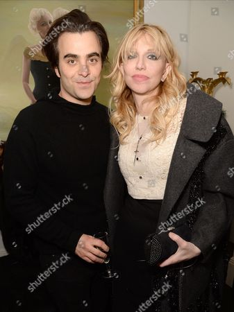 Nick Voretti and Courtney Love