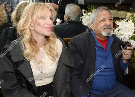 Courtney Love and V.S. Naipaul