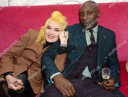 Stock Picture of Pam Hogg and Ozwald Boateng