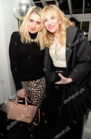 Stock Photo of Camille Benett and Courtney Love